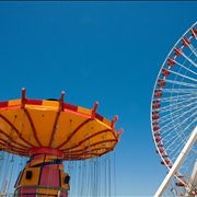 Picture Of Amusement Rides At Navy Pier