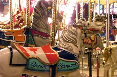 Picture Of Carousel At Beauce Carnaval