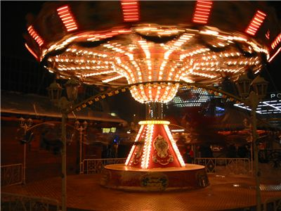 Picture Of Carousel In Berlin Potsdamer Platz