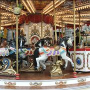 Picture Of Children's Carousel