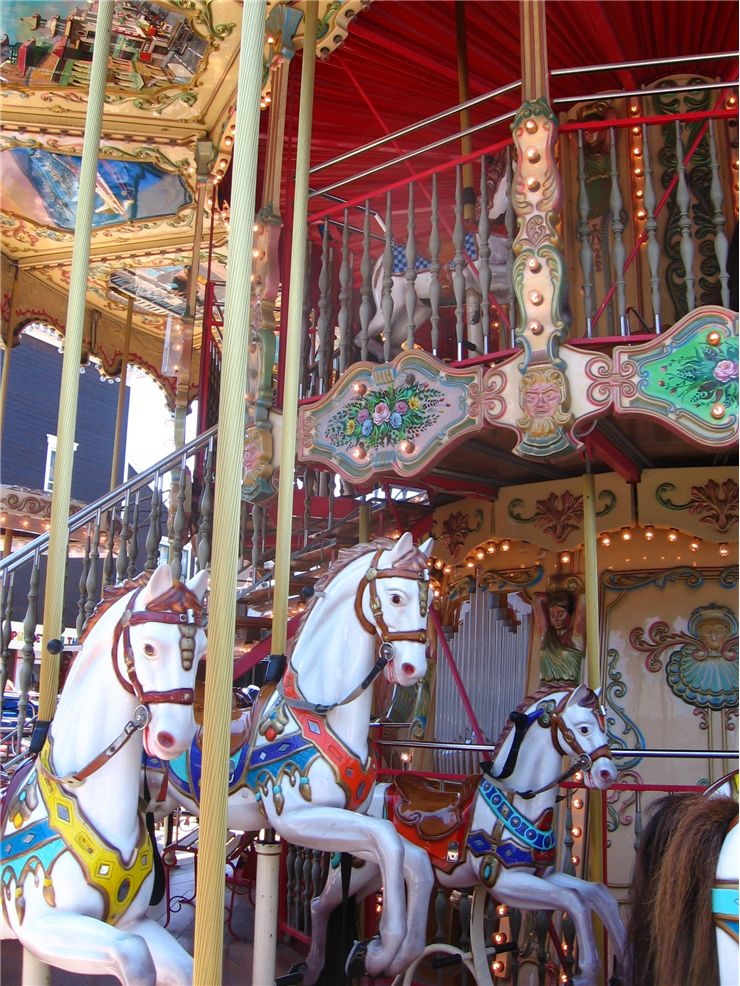 Picture Of Double Decker Carousel