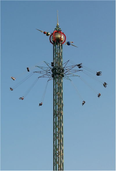 Picture Of Himmelskibet Worlds Highest Carousel In Denmark