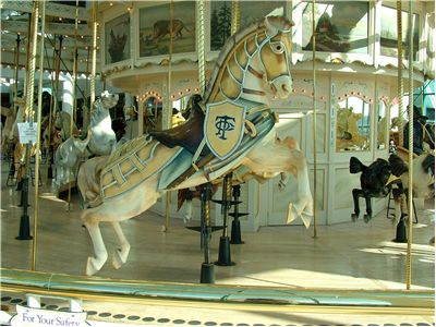 Picture Of Merry Round Carousel Horse