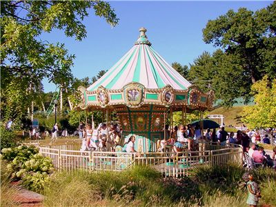 Picture Of Old Carousel In Connecticut