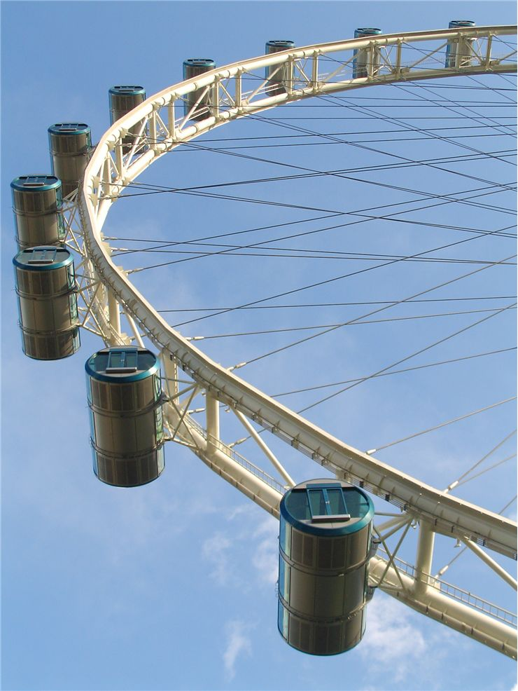 Picture Of World's Largest Ferris Wheel In Singapore
